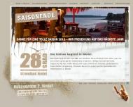 Bild Webseite dos amigos restaurant consulting Hamburg