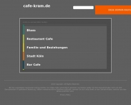 Bild Webseite Gaststätte Café - Café Kram Köln