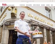 Bild Webseite Cölner Hofbräu P.Josef Früh Köln