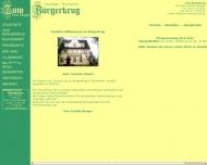 Website Zum Bürgerkrug