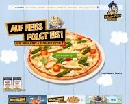 Bild Webseite Hallo Pizza Dresden