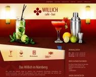 Bild Webseite Cafe-Bar Willich Nürnberg