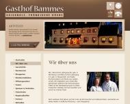Website Gasthof Bammes