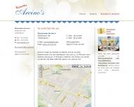 Website Arcino's Ristorante Spandau