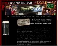 Bild Webseite Finnegan's Irish Pub Berlin