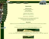 Website Restaurant Kolk