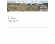 Website Haus Freya