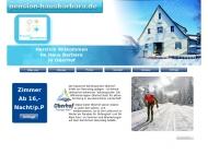 Bild Webseite  Oberhof