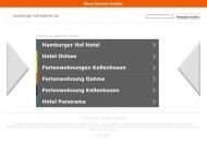 Bild Webseite Hamburger Hof Dahme