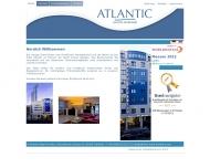 Bild Webseite Hotel Atlantic Frankfurt