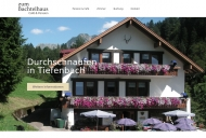 Cafe Pension Bachtelhaus in Oberstdorf Tiefenbach im Oberallg