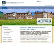 Website Alpenhof