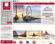 Bild Webseite Leonardo Hotel Köln Köln