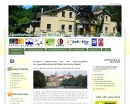 Bild Webseite  Bernburg
