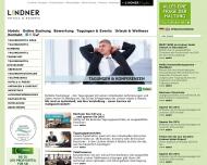 Bild Webseite Lindner Hotel Dom Residence Köln