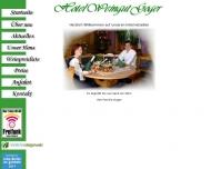 auf den Internetseiten vom Hotel-Weingut-Goger