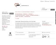 Website Arbeiterwohlfahrt Altenpflegeschule Bildungszentrum für Altenhilfe