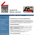 Bild B&S Akademie für Bildung & Sprachen Susanne Hohnen