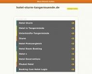 Bild Webseite Hotel Sturm Inh. Dörlitz Tangerhütte
