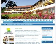 Bild Webseite ApartHotel Am Sonnenhügel Bad Birnbach