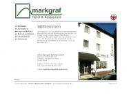 Bild Webseite MARKGRAF, Hotel & Restaurant Frankfurt
