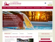 Bild Webseite Lenauhof Tagescafé Bad Birnbach