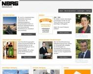 Bild Webseite NBRG Schmitz Krefeld