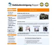 Website Gebäudereinigung Rüppel