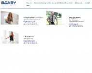 Website Gebäude-Büroreinigung-Bawey
