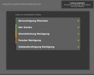 Bild Webseite Augusta-Gebäudereinigung München
