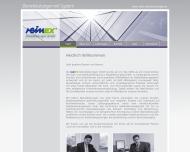 Bild Webseite reinEx Dienstleistungen Magdeburg