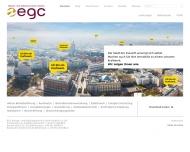 Bild Webseite EGC Energie- und Gebäudetechnik-Control Aachen