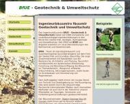 Bild Webseite Büro für Umweltgeologie Dipl.-Geologe S. U. Clausen Freiburg im Breisgau