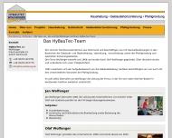 Website Wolfanger HyBauTec Jan Baubetrieb