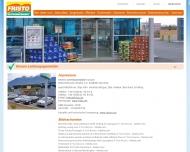 Website Guido de Muynck FRISTO-Getränkemarkt
