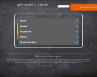 Bild Webseite Zipse Getränkeabholmarkt Endingen am Kaiserstuhl