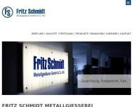 Fritzschmidt-metallgie?erei - Startseite