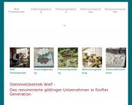 Bild Wolf Christoph Steinmetzbetrieb