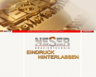 Bild Webseite Graviertechnik Neser Nürnberg