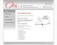 Bild Webseite Gravierbetrieb R. Otto & H. Röcklmaier München