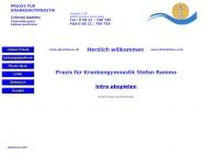 Bild Webseite Rammo Stefan Praxis für Krankengymnastik Spiesen-Elversberg