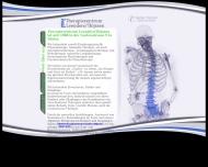 Website Leenders u. Thijssen Krankengymnastik