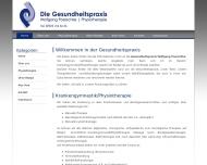 Website Die Gesundheitspraxis