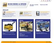 Bild BORCHERS & SPEER Baumaschinen-Baugeräte Handelsgesellschaft mbH