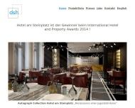 Bild Webseite DSH Handelsgesellschaft Berlin