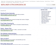 Bild Webseite Berliner Strickmoden Handelsgesellschaft Berlin