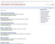 berliner-strickmoden.de - Informationen zum Thema berliner strickmoden.