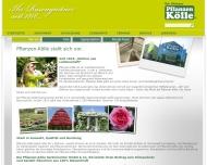 Website Pflanzen Kölle Gartencenter