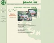 Bild Webseite Gärtnerei Jörs Brockel