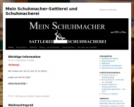 Bild Müller Lothar Schumacherei u. Sattlerei